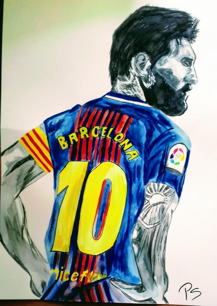 Lionel Messi par PenStilos